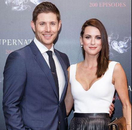 Jensen Ackles with his wife, Danneel Ackles