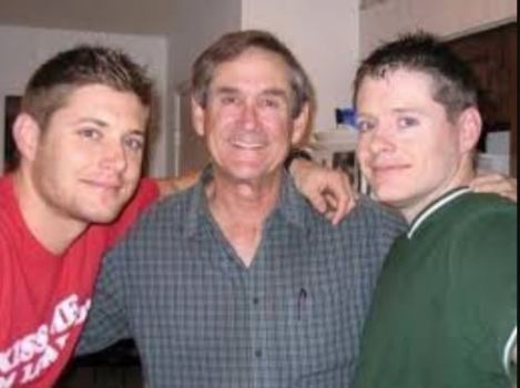 Joshua Ackles with his brother, Jensen and father, Alan Roger