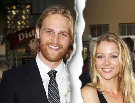 Sanne Hamers along with her ex-spouse, Wyatt Russell
