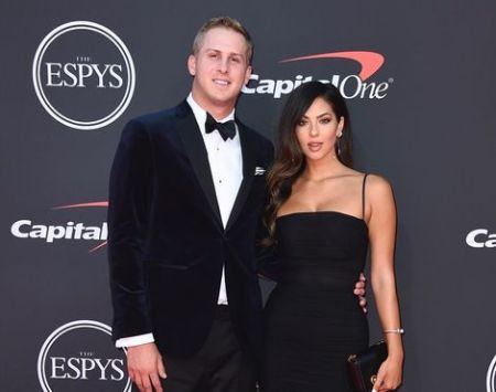 NFL player Jared Goff and his rumored girlfriend