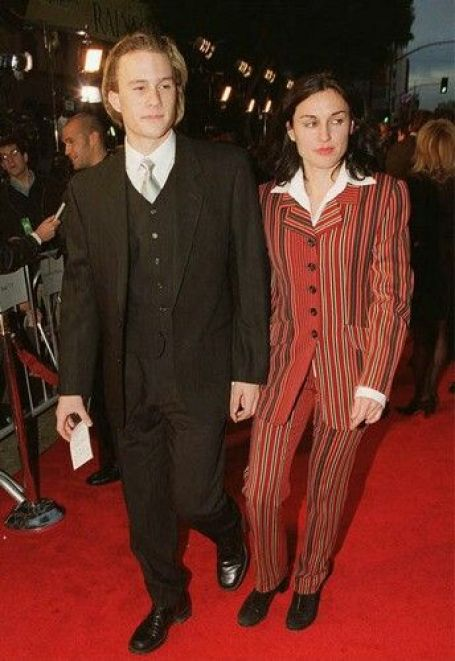 Heath Ledger and Lisa Zane