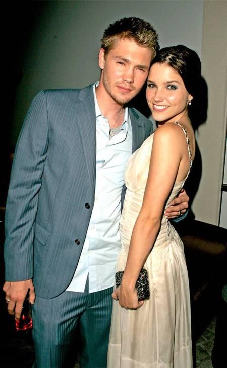 Sophia Bush with her ex-husband Chad