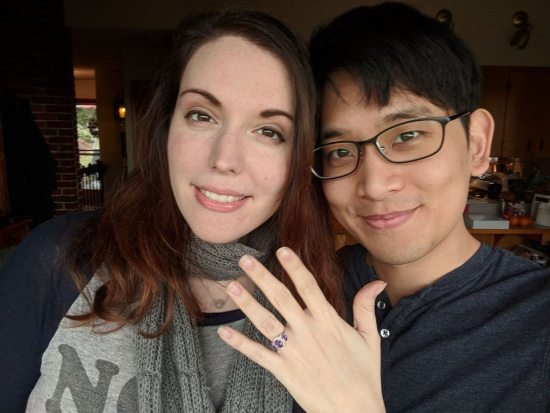 Amber Lee Connors is happily engaged