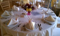 Wedding Table Setting  allstardjsco