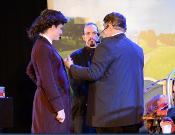 The Master and Missy confer with the Doctor