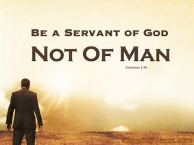 Galatians1-10 servant of God