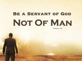 Galatians1-10 servant of God