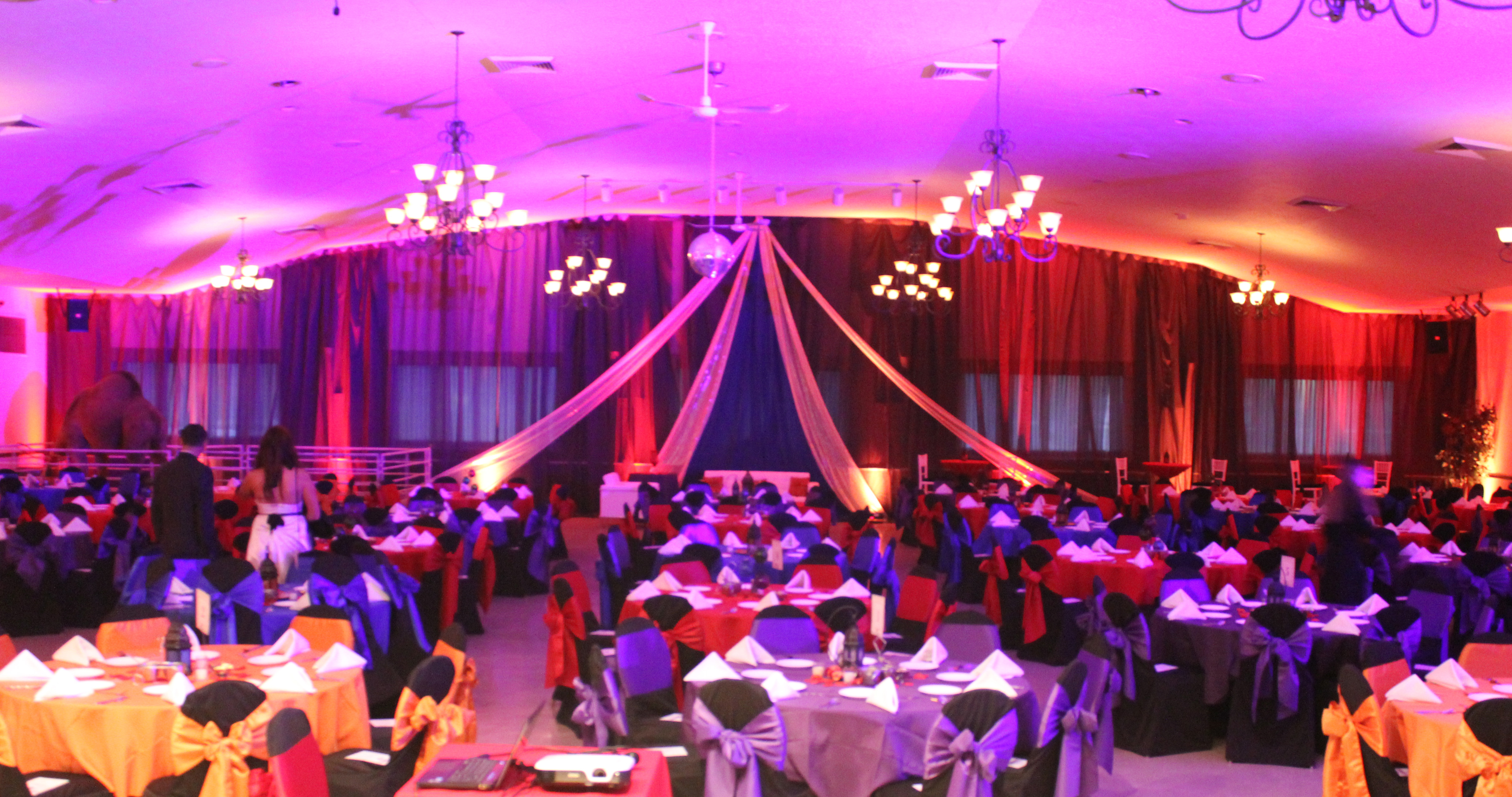 Formal Moroccan Theme Event