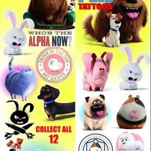 Secret Life Of Pets Tattoos