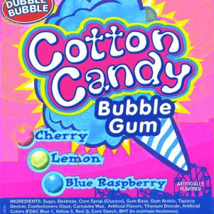 Dubble Bubble Cotton Candy 1300 CT