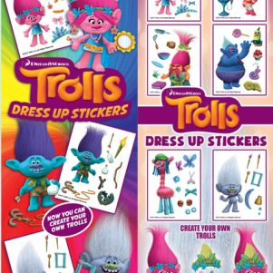 Dress Up Trolls Stickers
