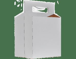 Paperboard 4-pack bottle carrier