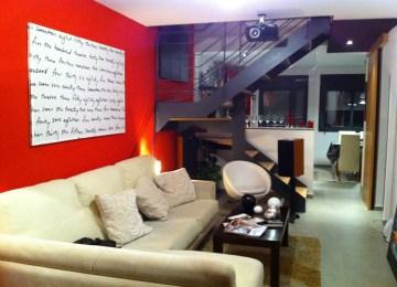 Decoration Pour Salon Moderne | Idée Salon Rouge Et Noir Cuisine ...