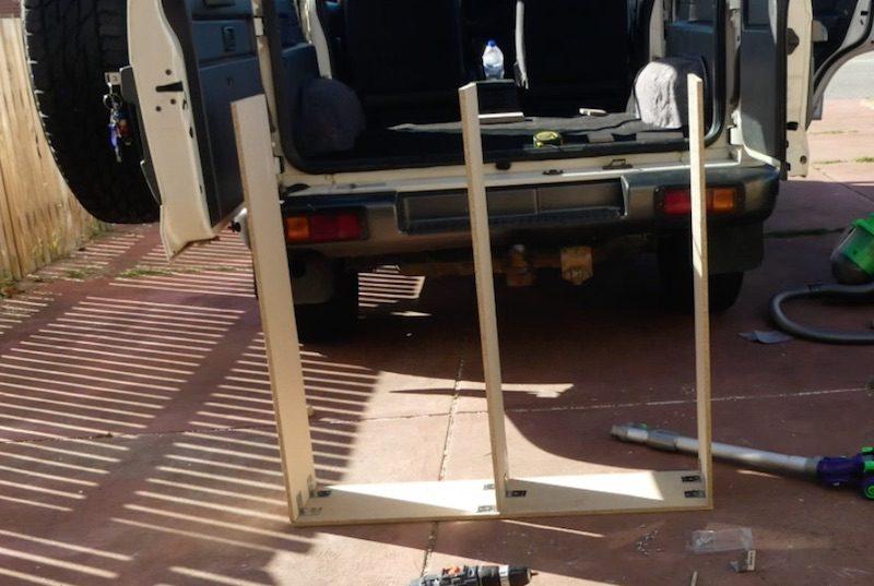 Alltagsgewusel, Autoumbau, Campingumbau, 4WD, Allrad, Australien