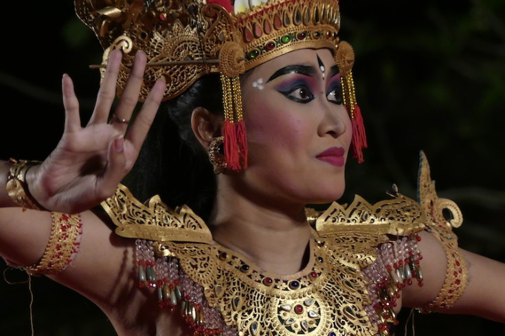 Ubud traditioneller Tanz, Alltagsgewusel, Weltreise