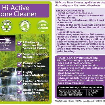 Hi Active Stone Cleaner