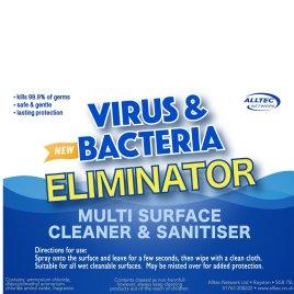 Multi surface Cleaner & Sanitiser Refill 5L