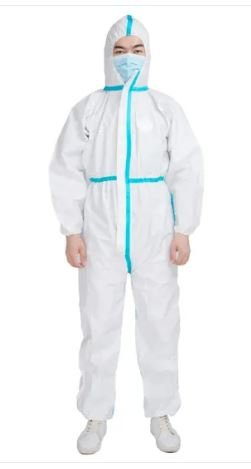 PPE Suit – Disposable Hooded Suit – Cat 5+6 – Class 3