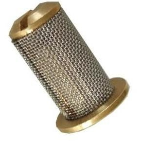Brass Top Hat Filter for T or Flat Jets
