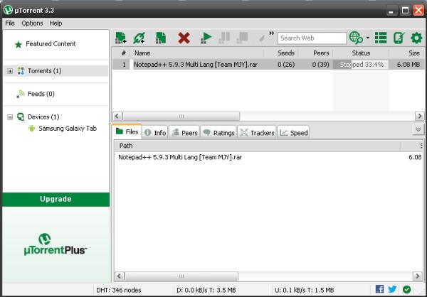 Download uTorrent to increase uTorrent Download Speed - Image 2