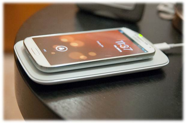 Phone on a Wireless Charging Pad - It's time to embrace the power of wireless charging