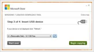 create a windows 7 bootable usb in under 9 minutes - windows 7 USB tool select pendrive