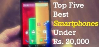 smartphones under 20000 rupees - featured image