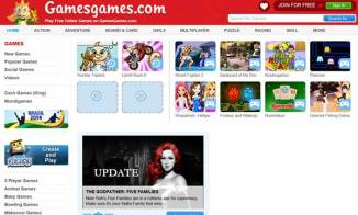 play free online games on gamesgames.com