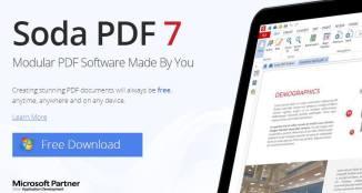 Soda PDF 7 - The Best Online PDF