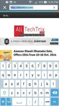 Asus Zenfone 5 Review with Kitkat 4.4.2 - Web Keyboard