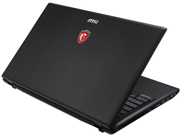 MSI GE60 Apache-629 back - #3 Best gaming laptops under $1000