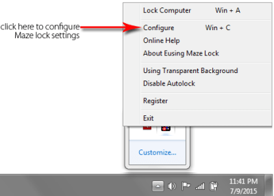 maze-lock-settings 11 - Pattern Lock on Windows OS