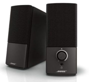 bose companion - best audiophile PC speakers - 12 Best Audiophile Computer Speakers Under $100-$500