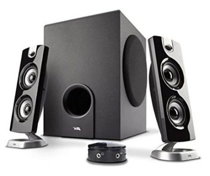 cyber acoustics - best audiophile PC speakers - 12 Best Audiophile Computer Speakers Under $100-$500