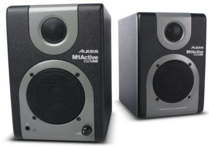 Alesis M1 Active - Best Studio Monitors - Top 8 Best Studio Monitors Under $200 that Sound Amazing