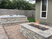Fire Pit & Hot Tub  All Terrain Landscaping