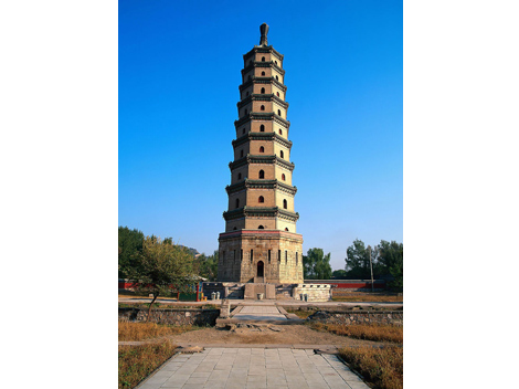 Liaodi Pagoda, Hebei Province, China
