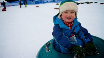 Snow Tubing at Soda Springs Resort