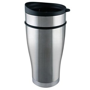 Planetary Design 16oz Tumbler Mug (BRUSHED STEEL)