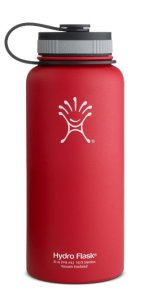Hydro Flask Insulated Wide Mouth Stainless Steel Water Bottle, 32-Ounce