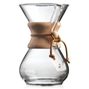 Chemex pour-over coffee maker