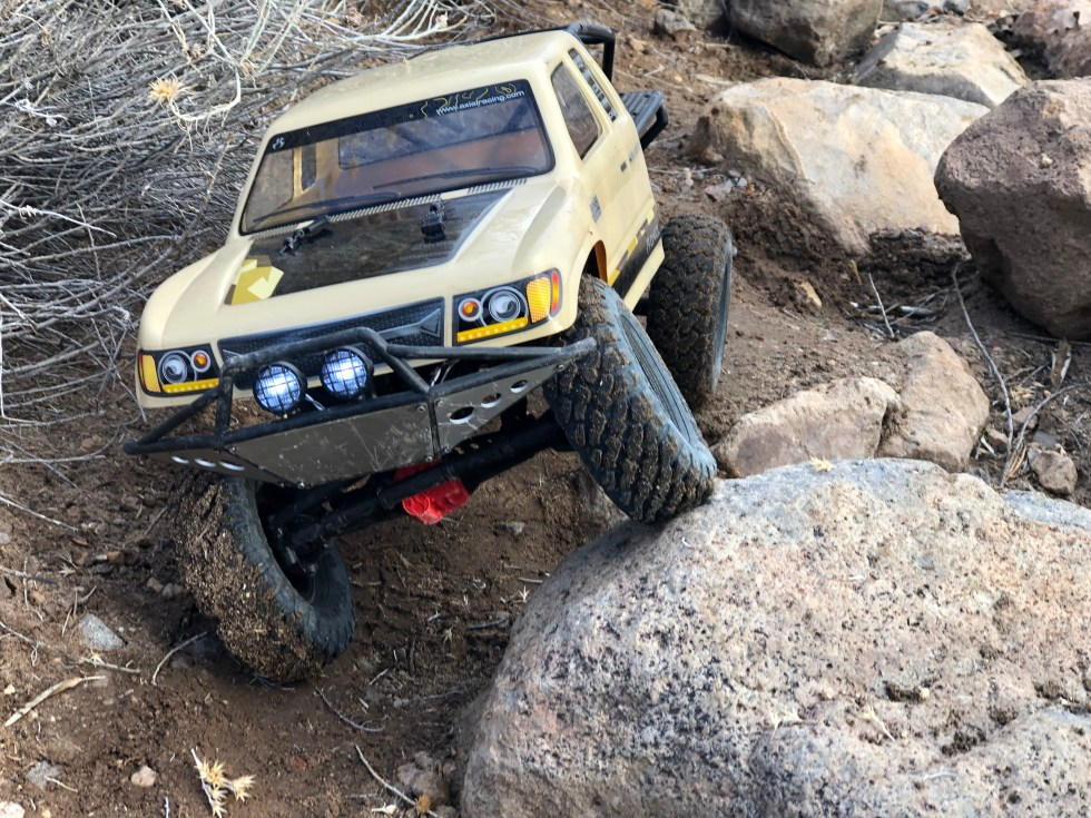 Scale Crawling in our Trail Honcho