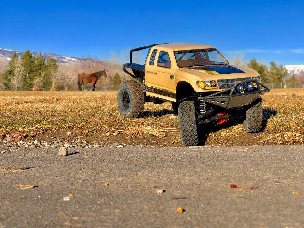 Axial Trail Honcho at our neighborhood park