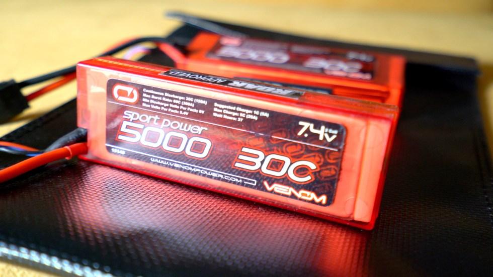 Venom 5000 Mah Battery for Axial Trail Honcho
