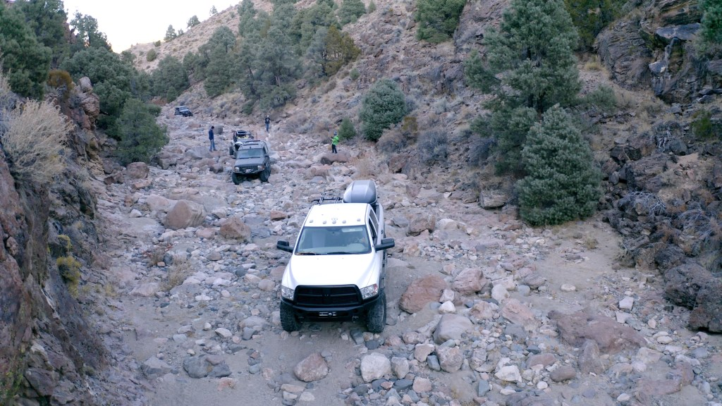 Power Wagon Rock Crawling Bronco Canyon