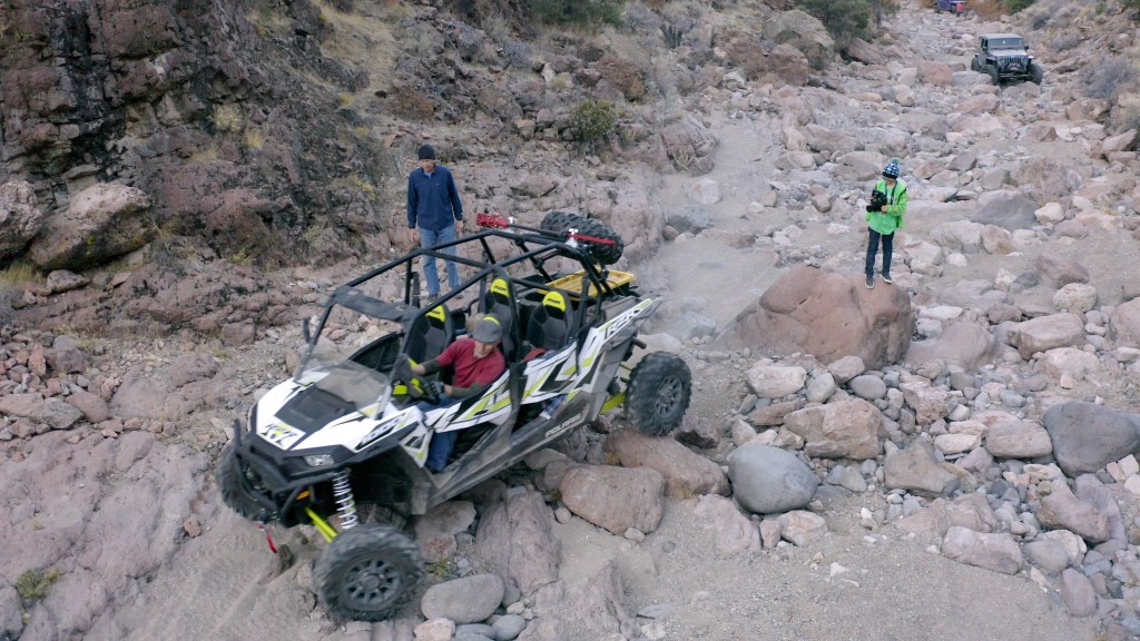 Polaris RZR 1000 Rock Crawling Bronco Canyon