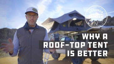 ten ways a roof top tent is better than a ground tent
