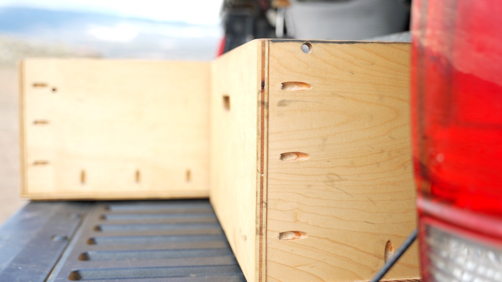Drawers made with Pocket Hole Screws