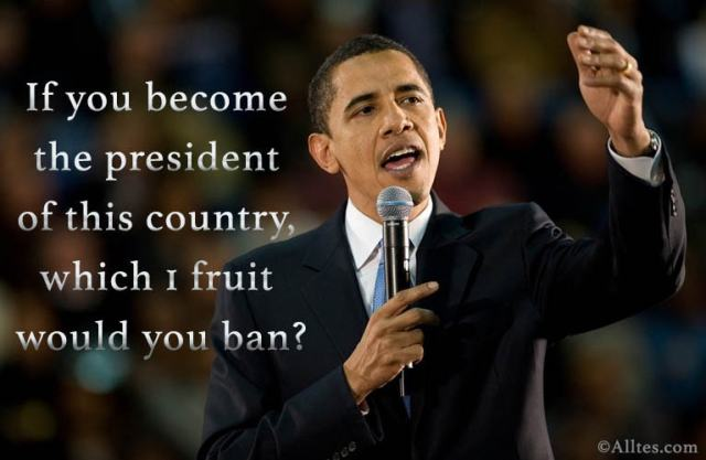 If you become the president of this country