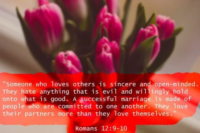 Romans 12-9-10